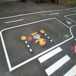 Creative Play Area Markings in Craigavon 2
