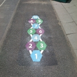 Creative Play Area Markings in Craigavon 1
