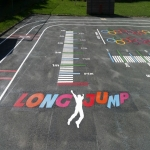 School Play Area Paint in Bradwell Hills 6