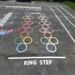 Kindergarten Playground Paint in Abbey Dore 12