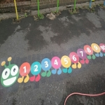 Creative Play Area Markings in Craigavon 6