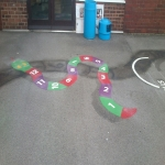 School Play Area Paint in Bekesbourne 10