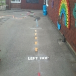 Ofsted Play Area Markings in Aberdour 3