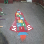 Kindergarten Playground Paint in Abbey Dore 10