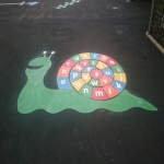 Nursery Play Surface Painters in Alvie 9
