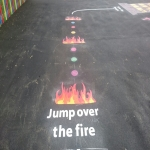 Creative Play Area Markings in Craigavon 9