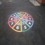 Basketball Surface Paint in West Sussex 3