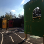 School Play Area Paint in Bekesbourne 3