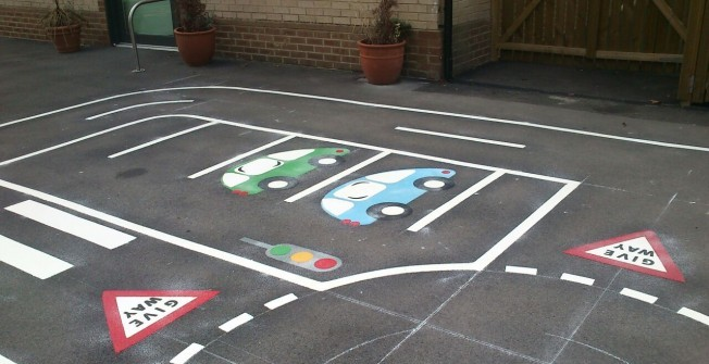 Imaginative Play Markings in Lincolnshire