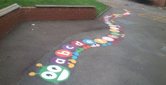 Nursery Playground Painting in Fife
