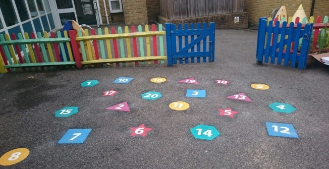 EYFS Learning Markings in Allington