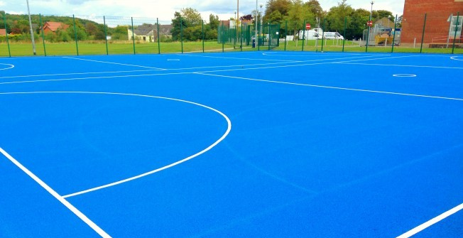 Playground Netball Court Painting