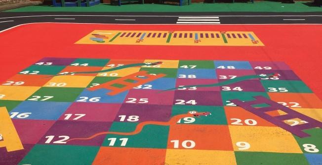 Nursery Playground Painting