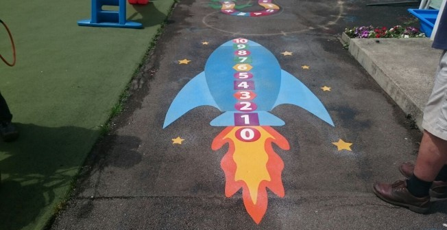 Key Stage 1 Playgrounds in Aldham