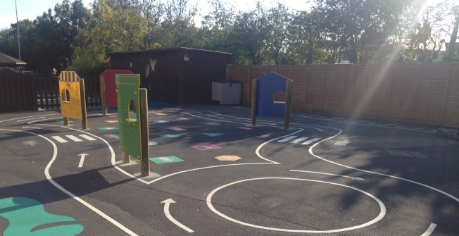 Outdoor Play Panels in Warwickshire
