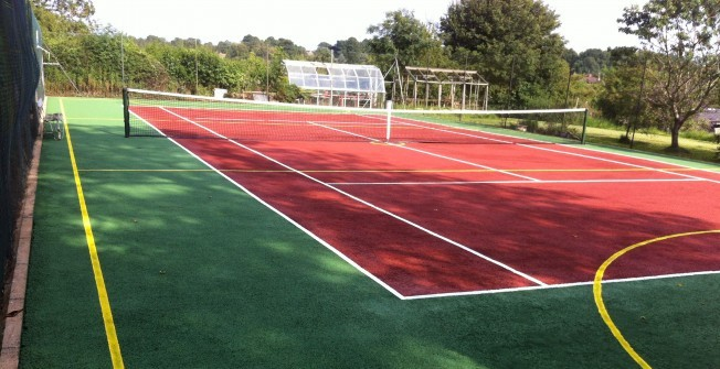 Playground Tennis Surfaces